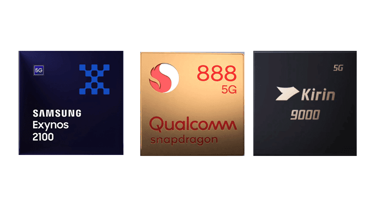 List of 5nm processors for smartphones
