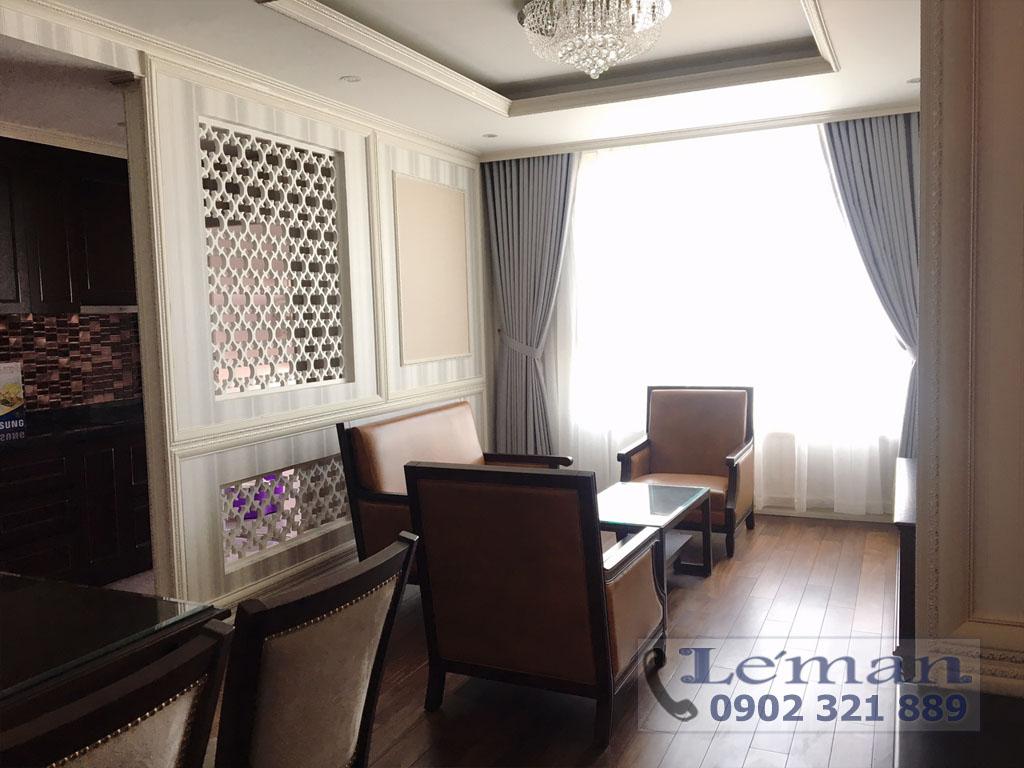 Léman Luxury trên đường Nguyễn Đình Chiểu cho thuê căn hộ 2PN - hình 2