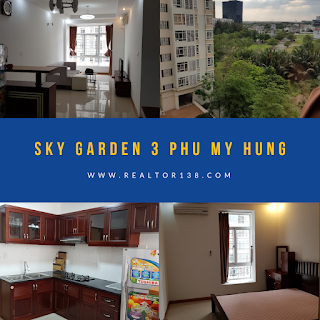 02 phòng ngủ chung cư Sky Garden 3 Phú Mỹ Hưng
