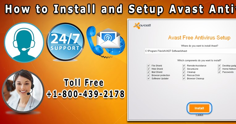 Avast Customer Support Number: How to Install and Setup