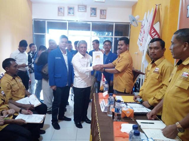 H Iskandar SE Siap Lanjutkan Pembangunan