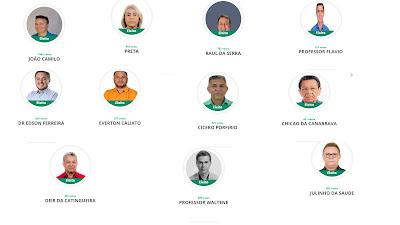 Conheça os 11 vereadores que assumirão o cargo a partir de 2021