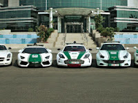 Dubai's Multi-Million Dollar Police Cars