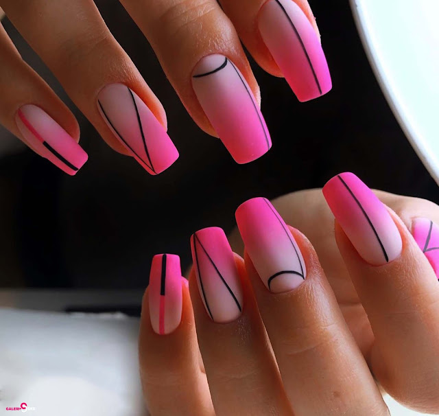 17 Best Collection Nails Art Design, Bright Spring and Summer Nail Design Images
