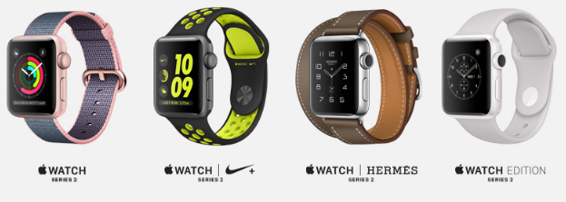 Apple Watch Series 2 Models