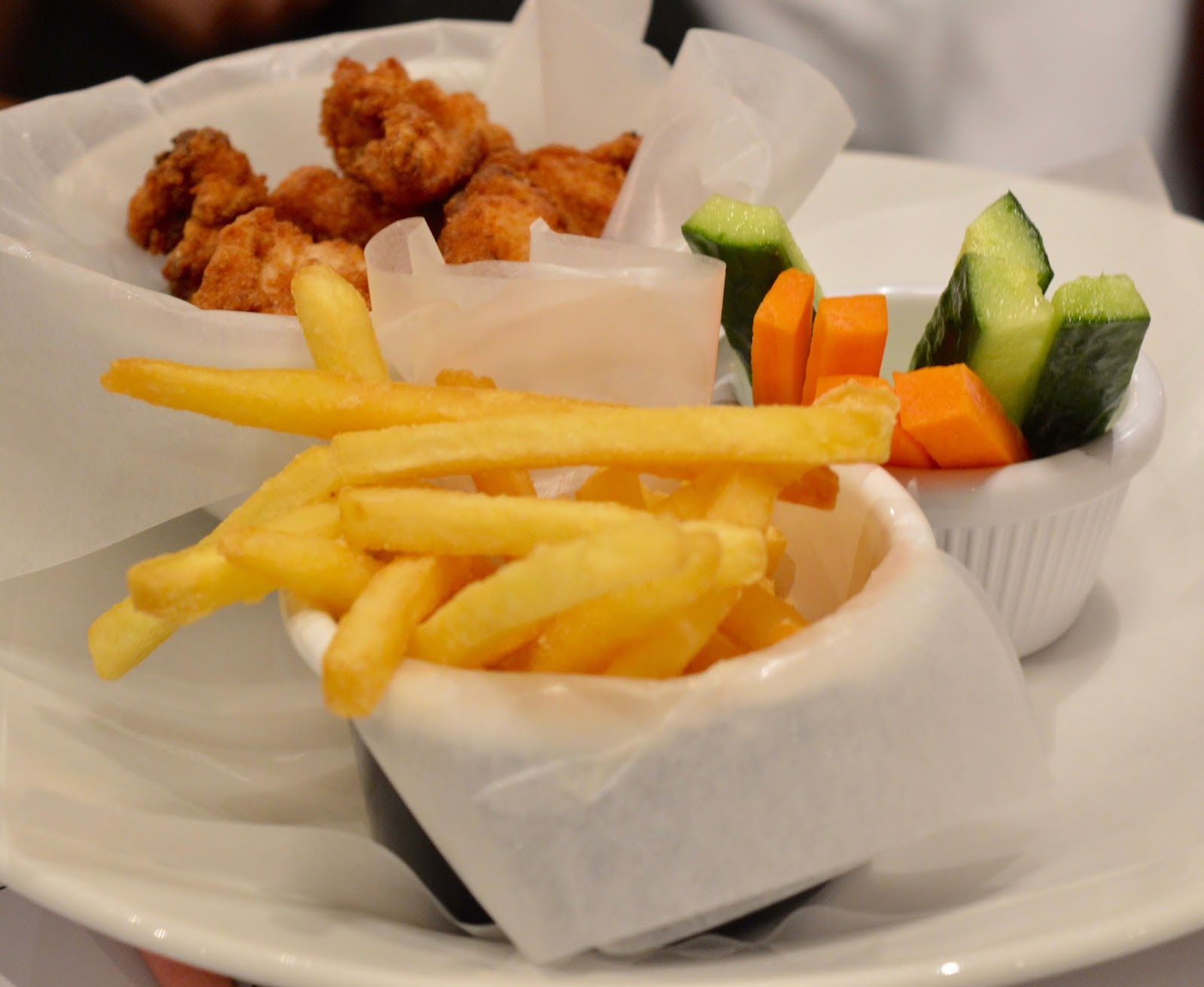 Byron Burgers | A Review of the children's menu at intu Metrocentre - kids chicken nuggets