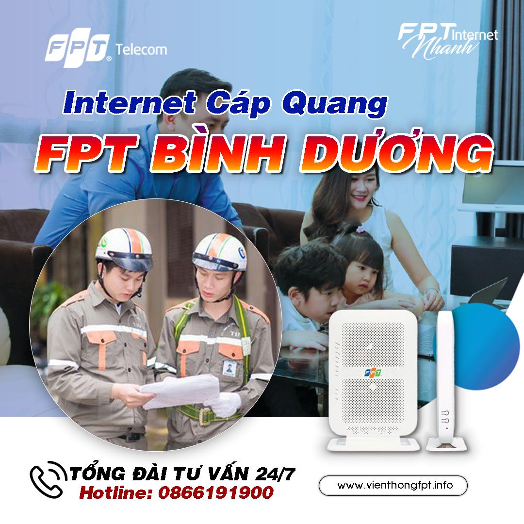 Đăng ký Internet FPT tại Bình Dương