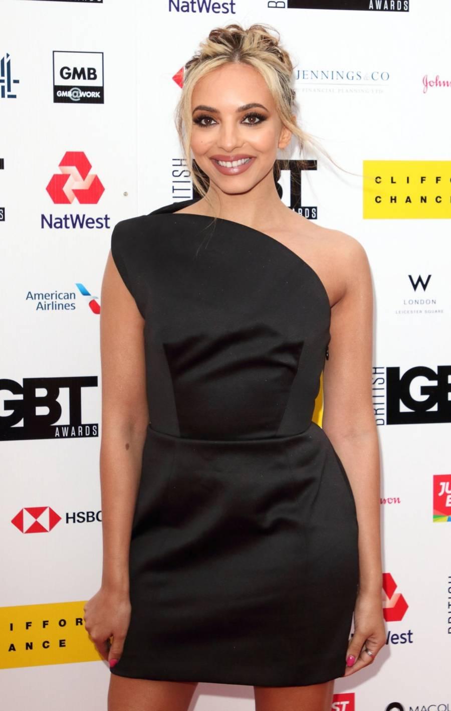 English Singer Jade Thirlwall At LGBT Awards in London
