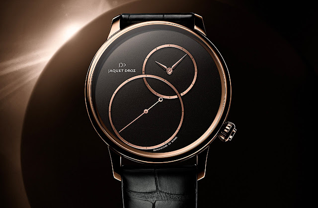 Jaquet Droz Grande Seconde Off-Centered Black Jade