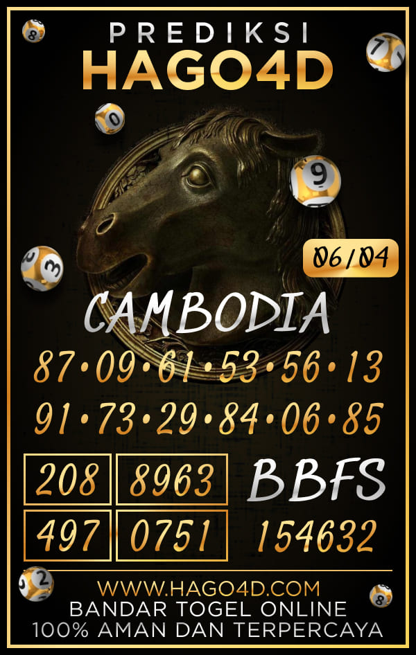 Hago4D - Prediksi Togel Cambodia