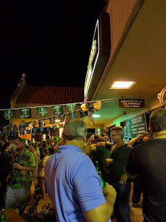 St Patrick's night crowd at Mickey Quinn's