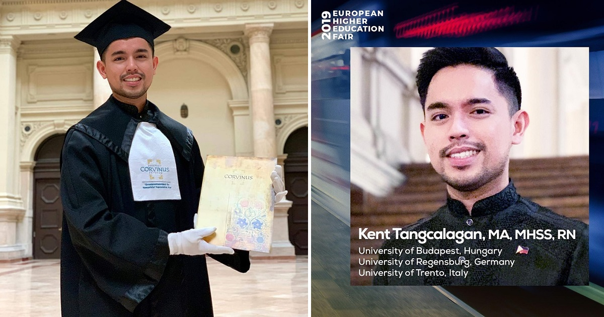 Pinoy student completes special master's degree program in Europe as summa cum laude