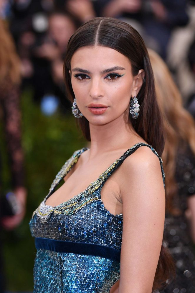 Emily Ratajkowski – 2017 MET Costume Institute Gala in NYC