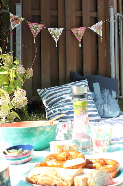 Picknickideen Sommerkueche draussen mit Kindern Jules kleines Freudenhaus