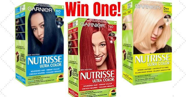 FREE Box of Garnier Nutrisse Hair Color