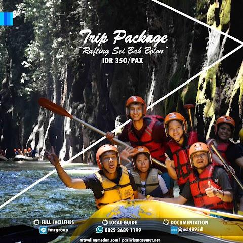 "Paket Wisata Rafting ""Sei Bah Bolon"" Serdang Bedagai"