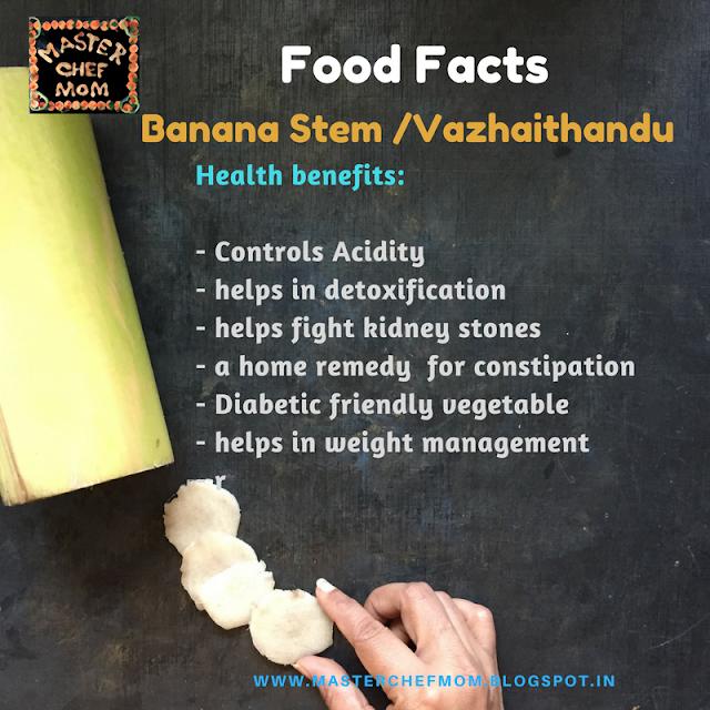 Vazhaithandu Recipes | Banana Stem Recipes