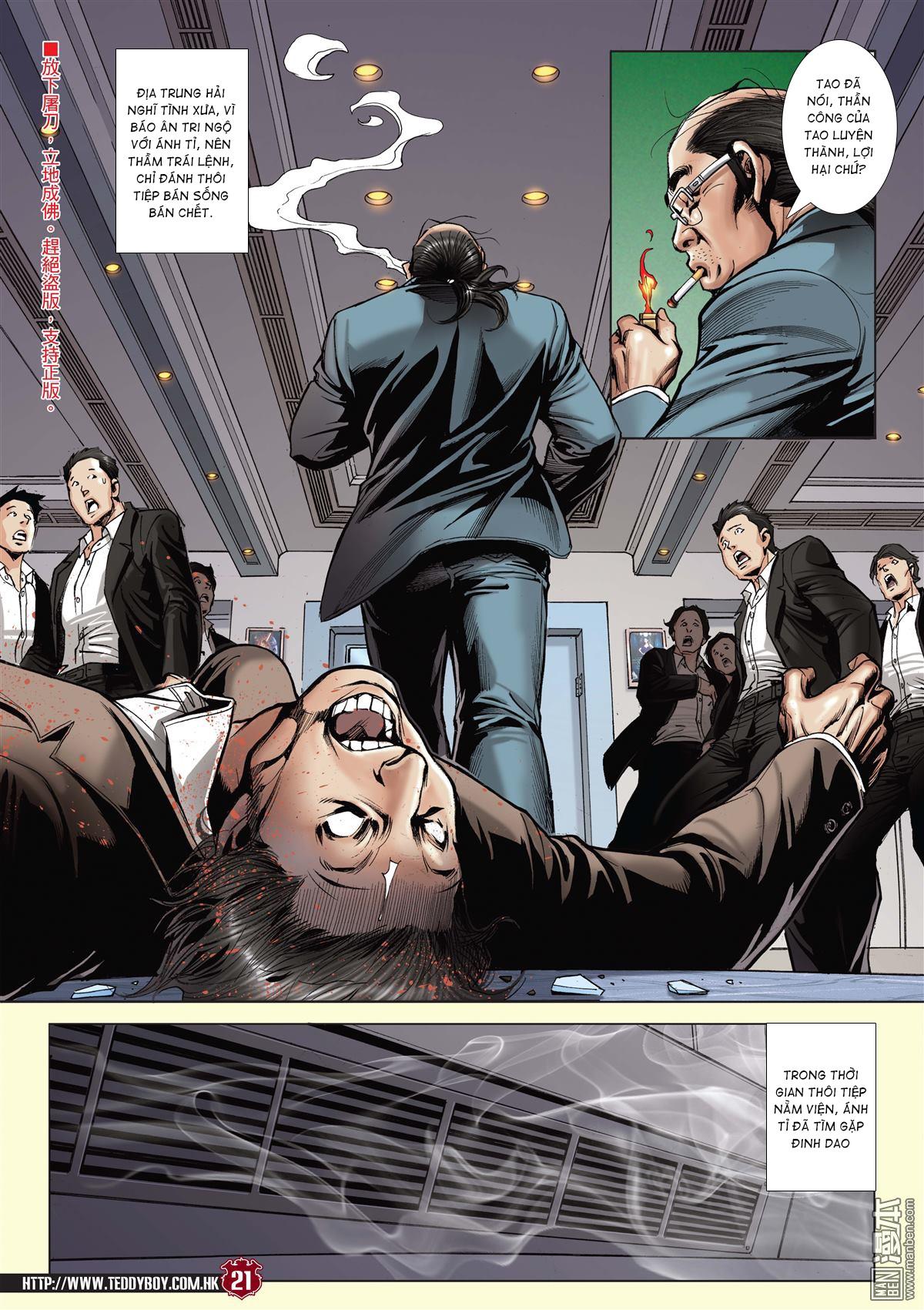 Người Trong Giang Hồ chapter 2059: gà rừng và đinh dao trang 18