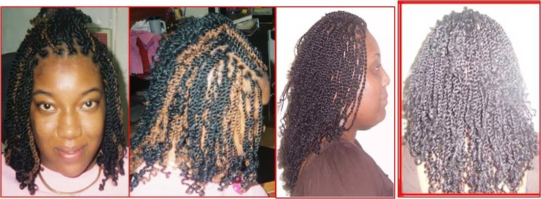 Crochet Braids And Edges : Kinky twists & Crochet braids Braids by Mary