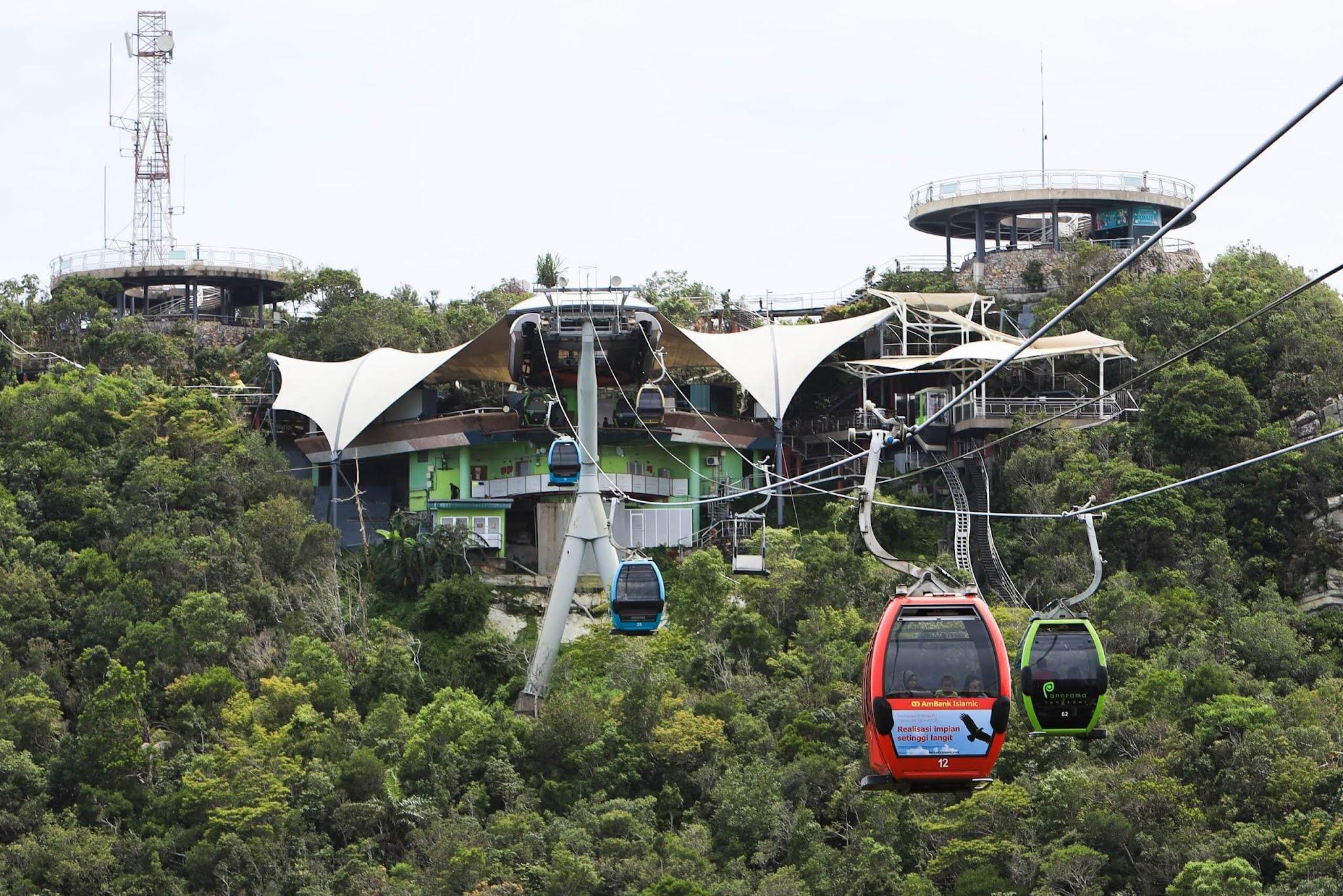 10 Tempat Menarik di Langkawi Cable Car