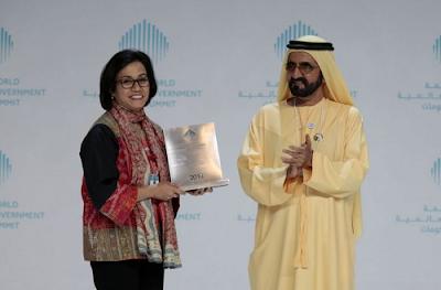 Sri Mulyani Indrawati Raih Penghargaan Sebagai Menteri Terbaik di Dunia