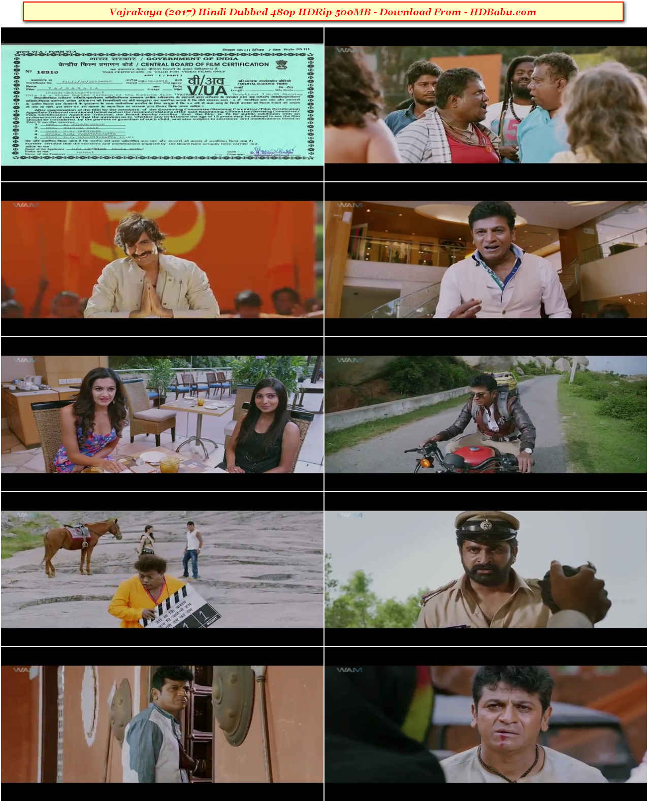 Vajrakaya Hindi Dubbed Full Movie Download