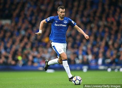 Morgan Schneiderlin thi đấu khá thành công ở Everton