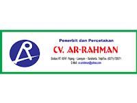 Lowongan Kerja di CV Ar Rahman - Surakarta (Ilustrator Buku dan Setter)