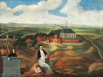 Tomasz a Kempis na górze Agnietenberg (1569). Fot. Wikimedia Commons