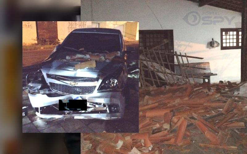 Carro invade residência em bairro de Petrolina (PE) - Portal Spy Notícias de Juazeiro e Petrolina