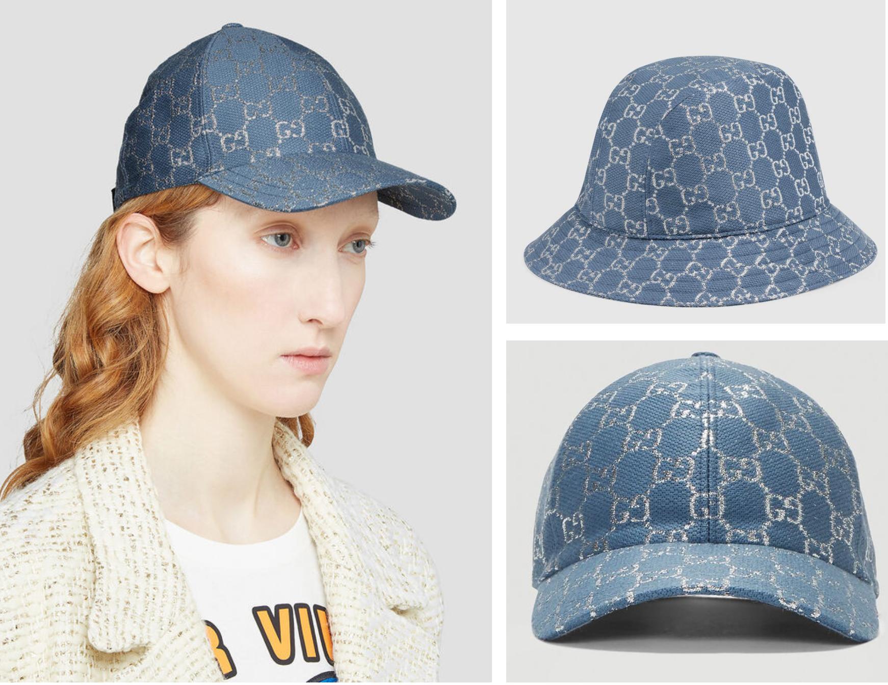 GUCCI-GG-Lamé-Bucket-Hat-水桶帽