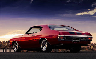 Dominic Toretto with 1970 Chevrolet Chevelle SS Picture