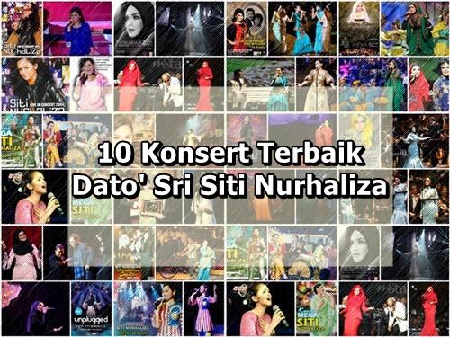10 Konsert Terbaik Dato' Sri Siti Nurhaliza