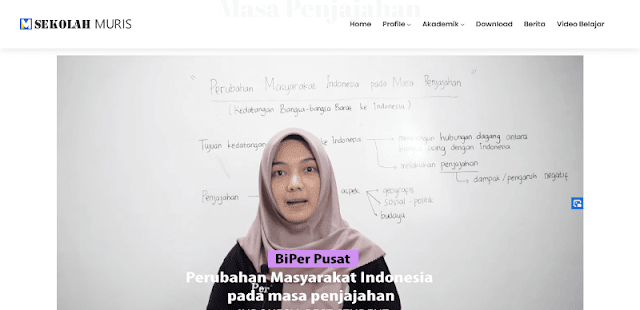 Source Code PHP Web Profil Sekolah Keren Menggunakan CI
