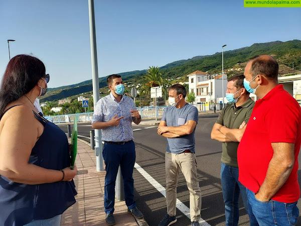 El Cabildo inicia los trabajos de la nueva avenida urbana de San Andrés y Sauces