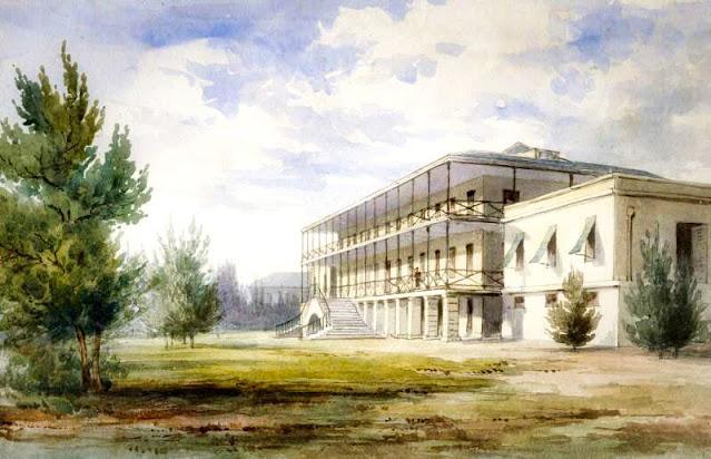 Royal Naval Hospital Bermuda by Johnson Savage MD c1833-1836