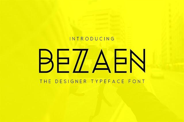 Bezaen Typeface Download Font Free