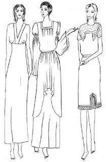 Jenis-jenis tunik sebagai salah satu bentuk dasar desain busana