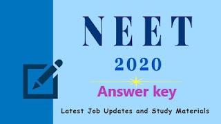 NEET paper Solution 2020
