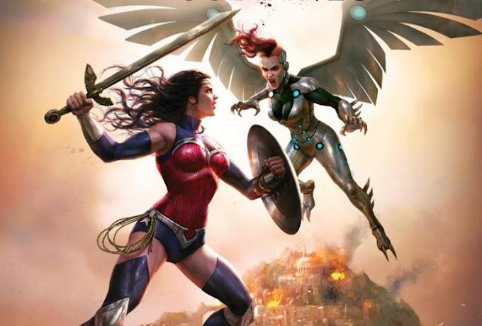 Trailer de la nueva película de animación de DC, Wonder Woman Bloodlines