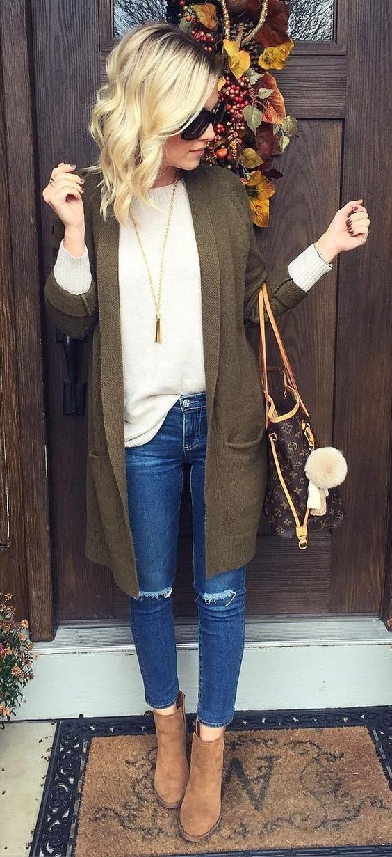 40 Pretty Outfit Ideas For This Winter