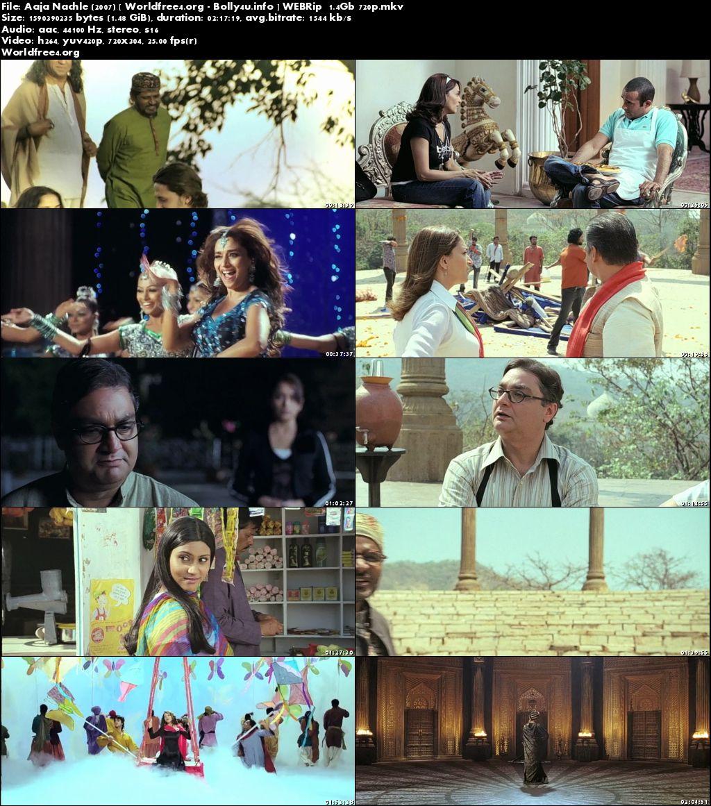 Aaja Nachle 2007 WEBRip 400Mb Hindi Movie 480p ESubs Download