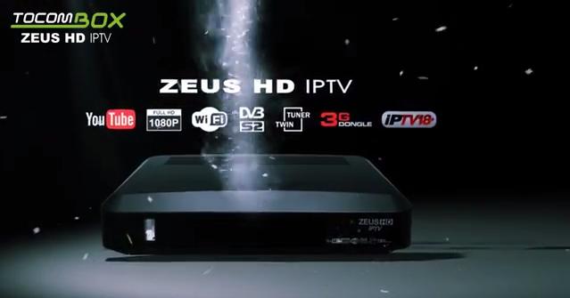 TOCOMBOX ZEUS IPTV NOVA ATUALIZAÇÃO V03.049 - 12/11/2019