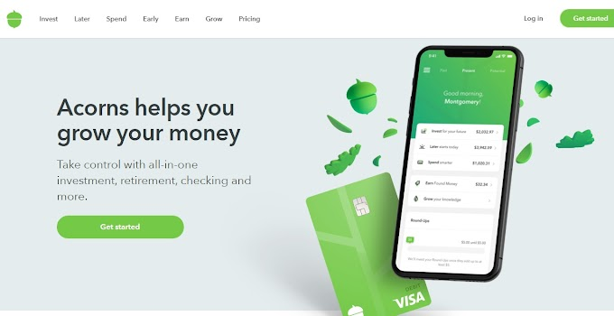 Acorns Investing - How to sign up, About, Easy way to invest in your team