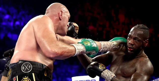 Tyson Fury knocks out Deontay Wilder in 7th round to become world champion