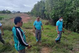 Yunus Banghely Tinjau Rencana Lahan Pembangunan Mako Polairur Polres Merauke