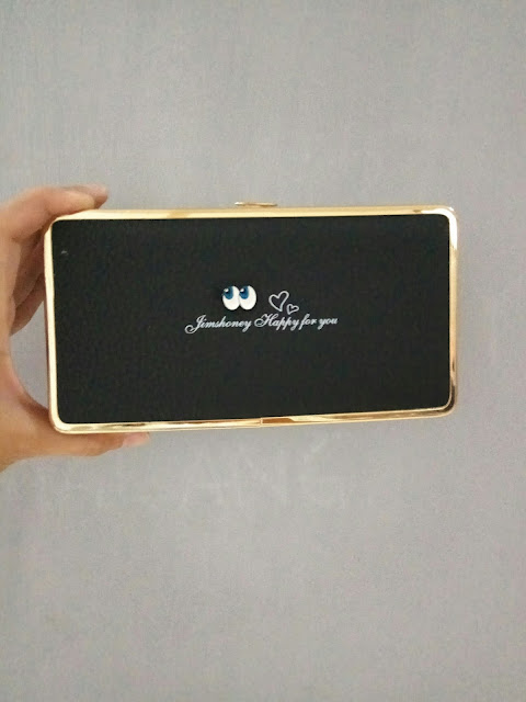 Jims Honey Abbey Wallet warna hitam