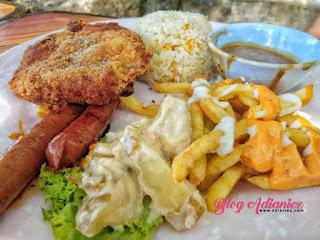 Kembali ke Cafe Markisa | Nikmati pula ikan baung masak tempoyak dan fresh markisa sedap!