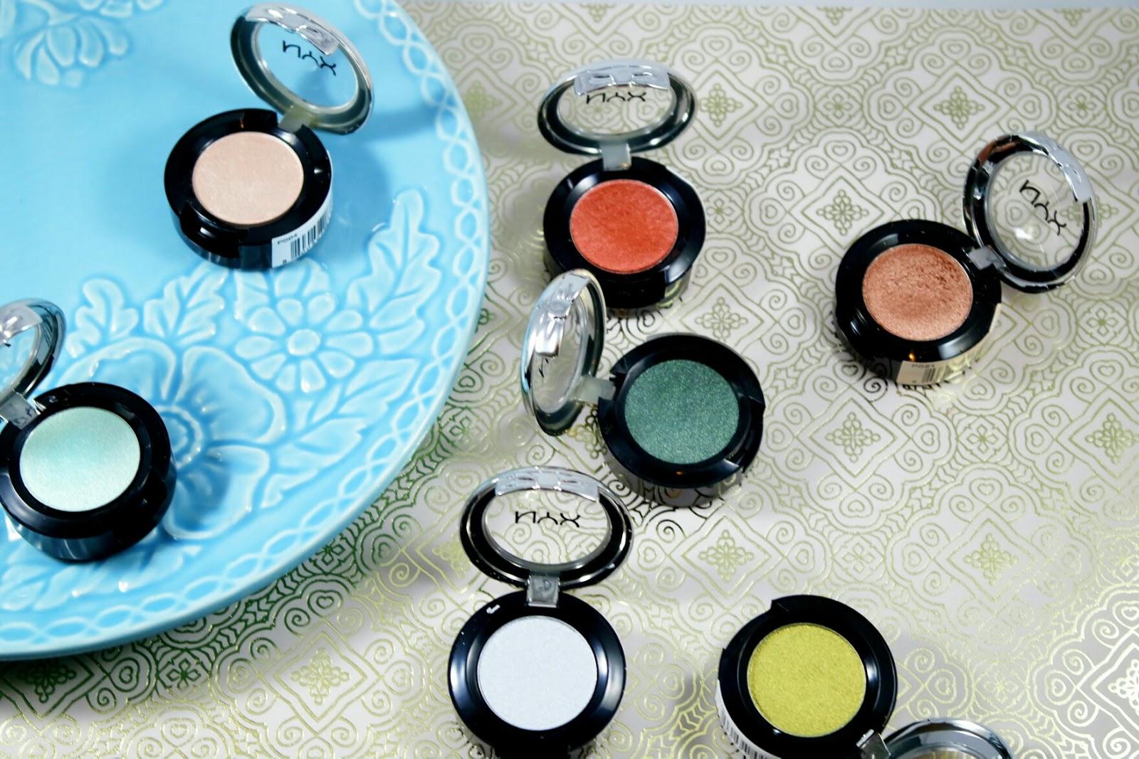 Eyeshadow Swatches