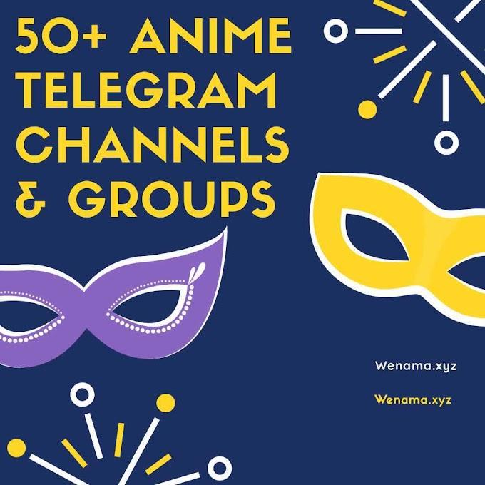 Anime Telegram channels & Groups 50+ 2020